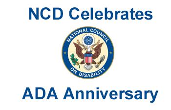 NCD Celebrates ADA